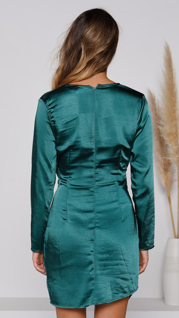 Paloma Dress - Emerald