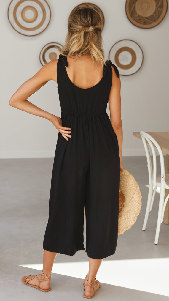 Tia Jumpsuit - Black