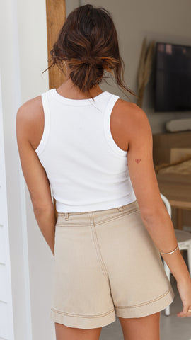 Thornberry Shorts - Beige