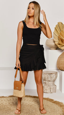 Richie Skirt - Black