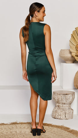Lou Dress - Emerald