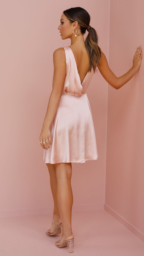 Tegan Dress - Rose Gold