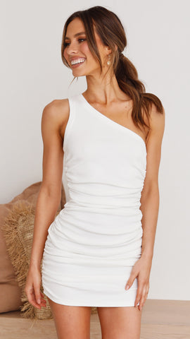 Tamika Dress - White