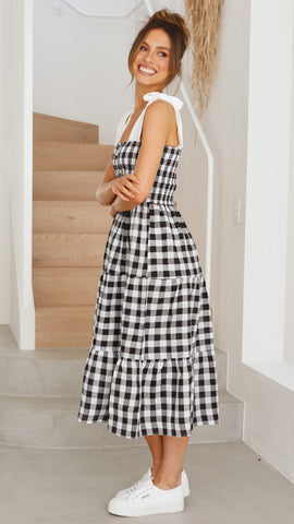 Shania Dress - Gingham