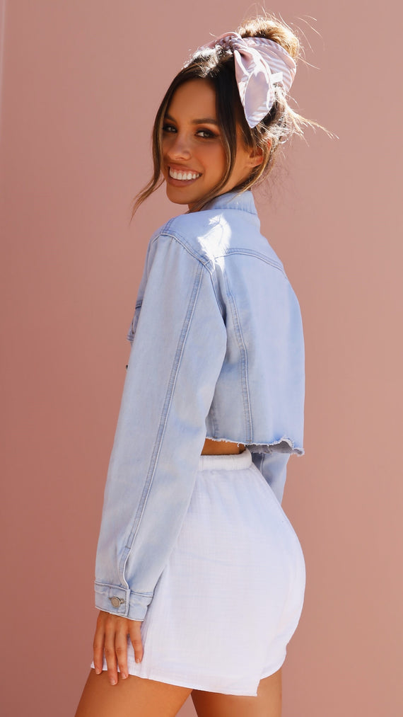 Annette Denim Jacket - Blue