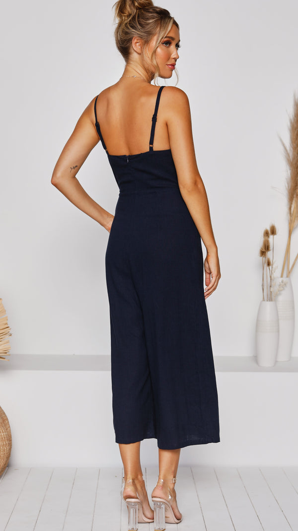 Jayde Jumpsuit - Navy