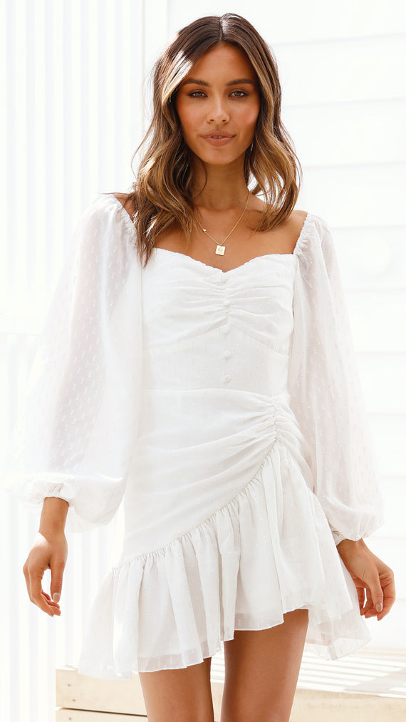 Merella Dress - White
