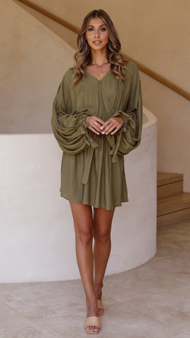Inti Dress - Khaki
