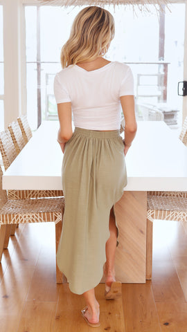 Avalon Skirt - Olive