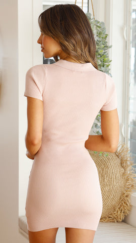 Leah Dress - Blush
