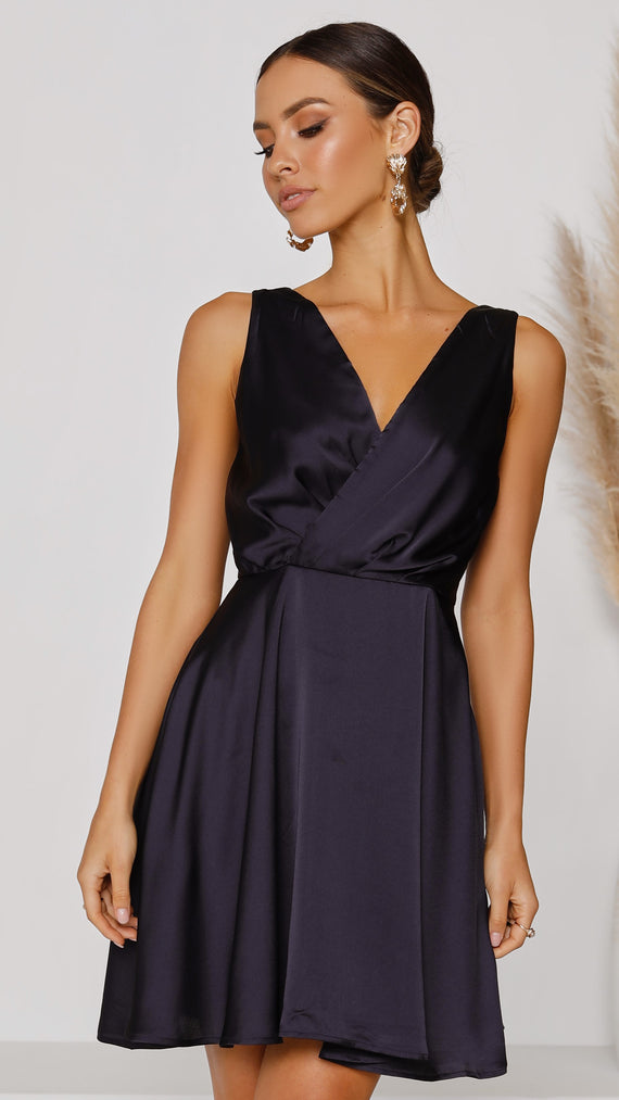 Tegan Dress - Navy