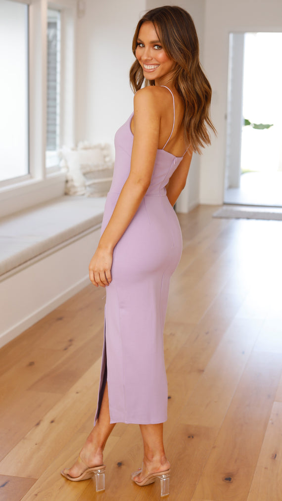 Kenzie Dress - Lilac