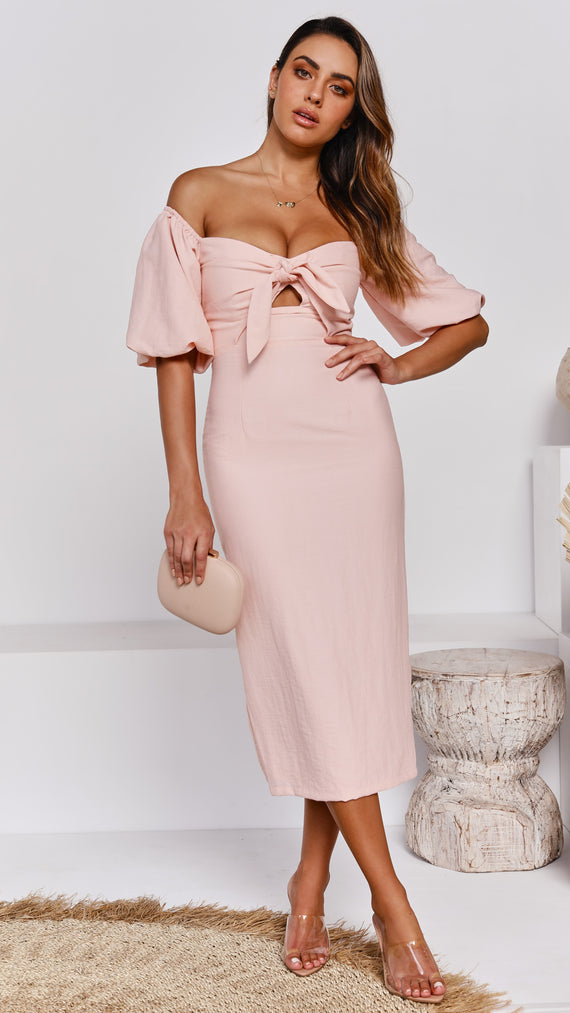 Amy Dress - Blush