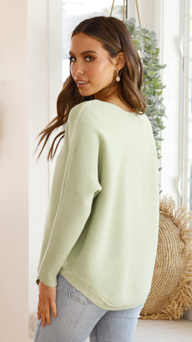 Into You Knit - Matcha