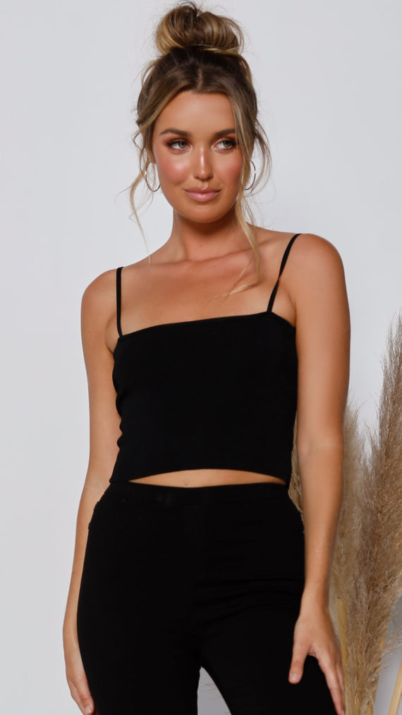 Suncatcher Top - Black