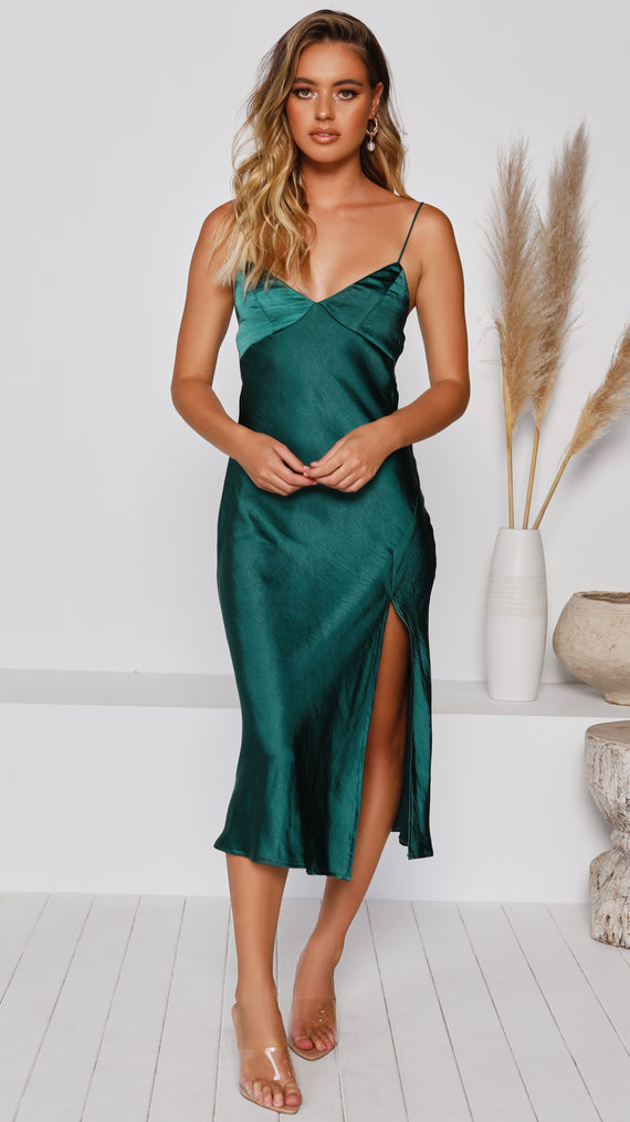 Altona Dress - Emerald