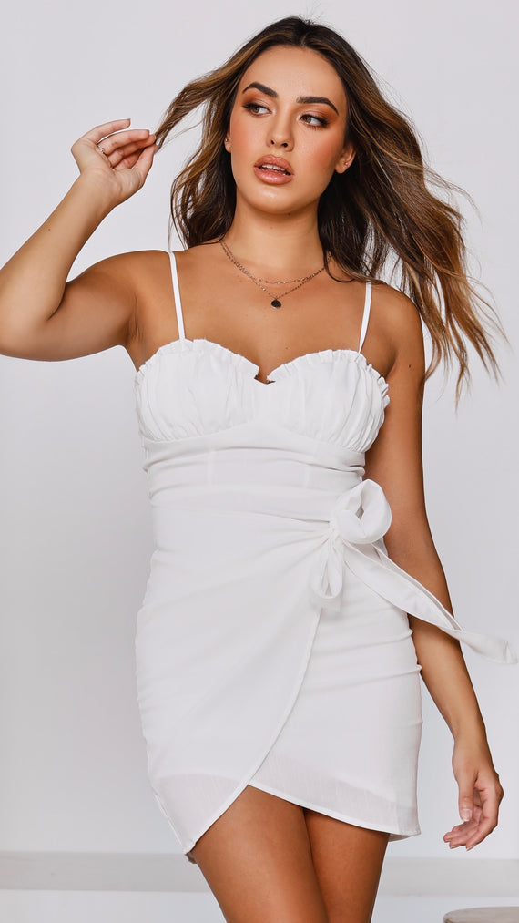 Amanda Mini Dress - White