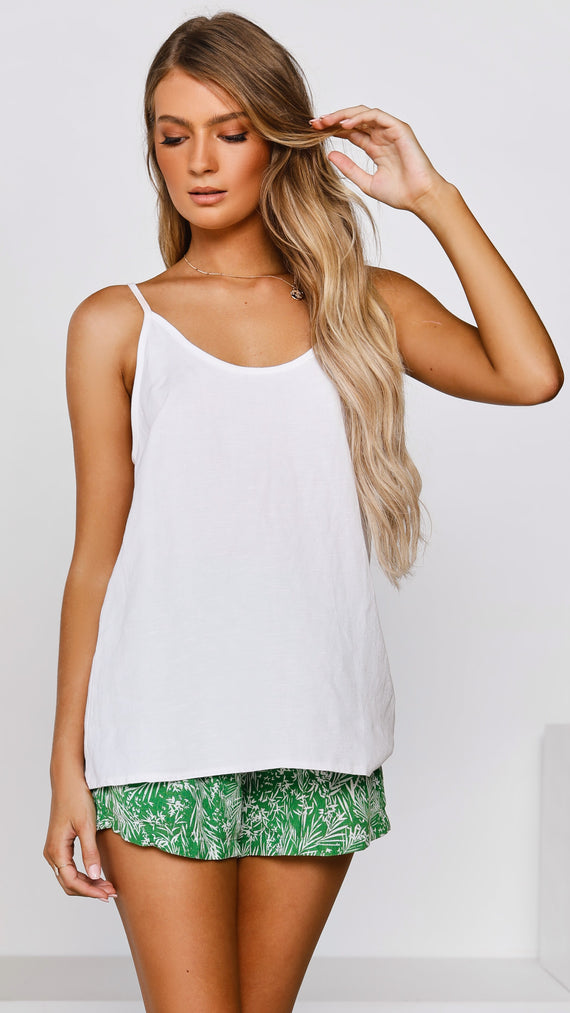 Kelsey Top - White