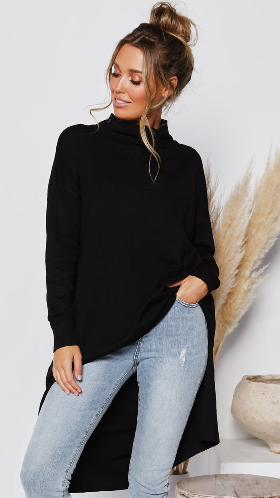 Anesha Top - Black