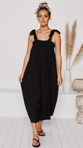 Pat Jumpsuit - Black