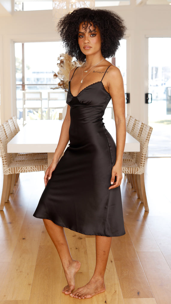 Alisha Dress  - Black