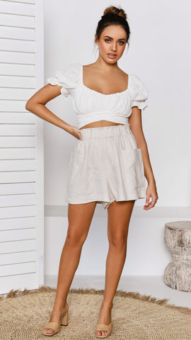 Javie Top - White