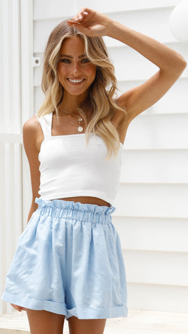Ella Shorts - Blue