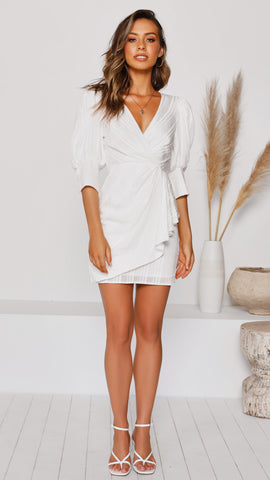 Adina Dress - White