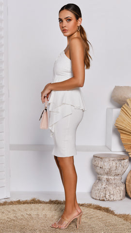 Mercer Dress - White