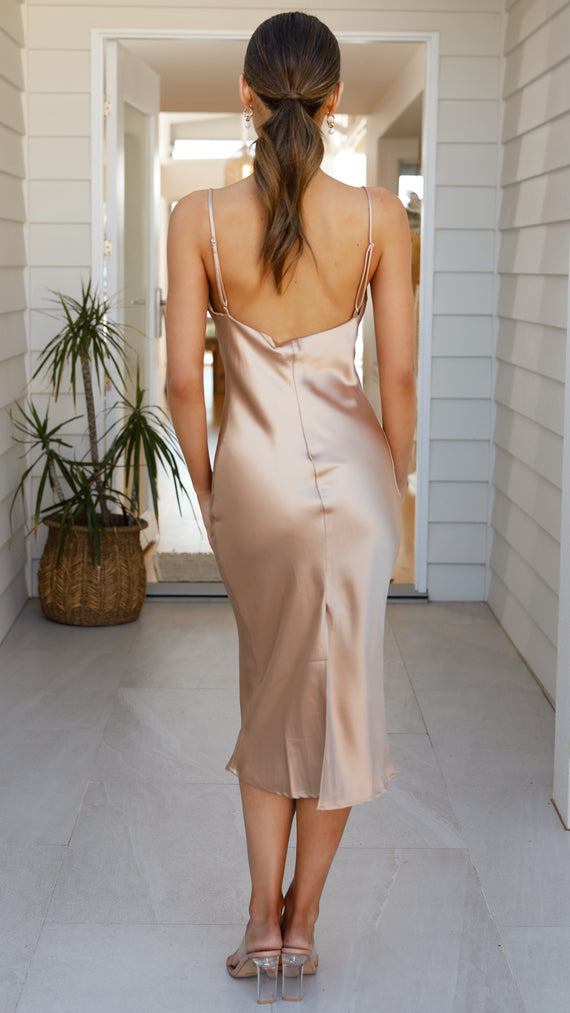 Jewels Dress - Champagne