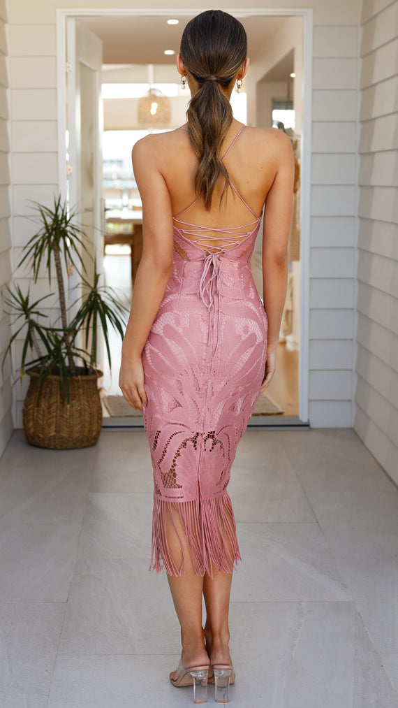 Khaleesi Dress - Dusty Rose
