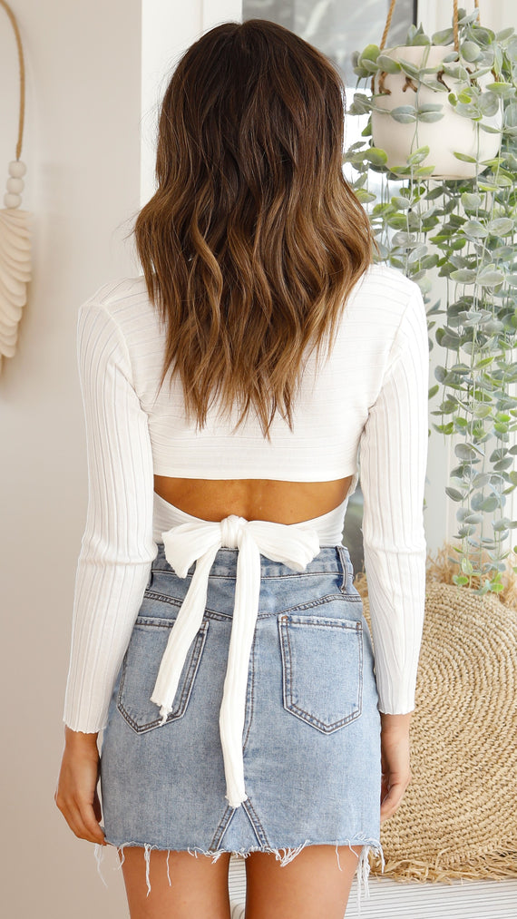 Harmony Top - White