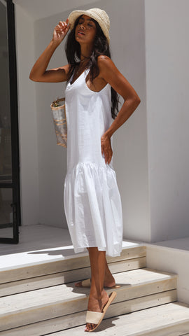 Kiana Dress - White