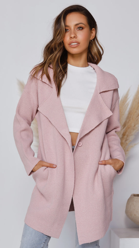 Benita Coat - Blush