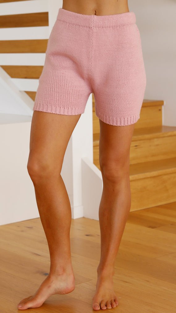 Abbie Shorts - Pink