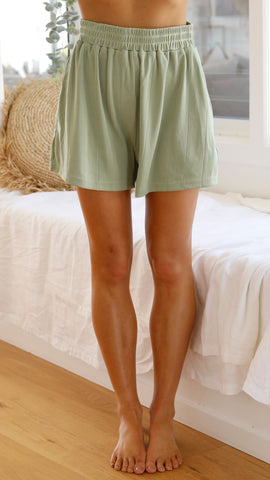 Daisy Duke Shorts - Sage