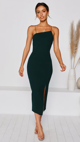 Kenzie Dress - Emerald