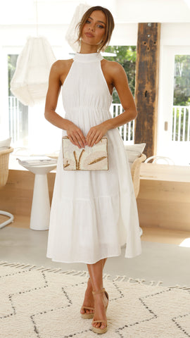 Darcey Dress - White