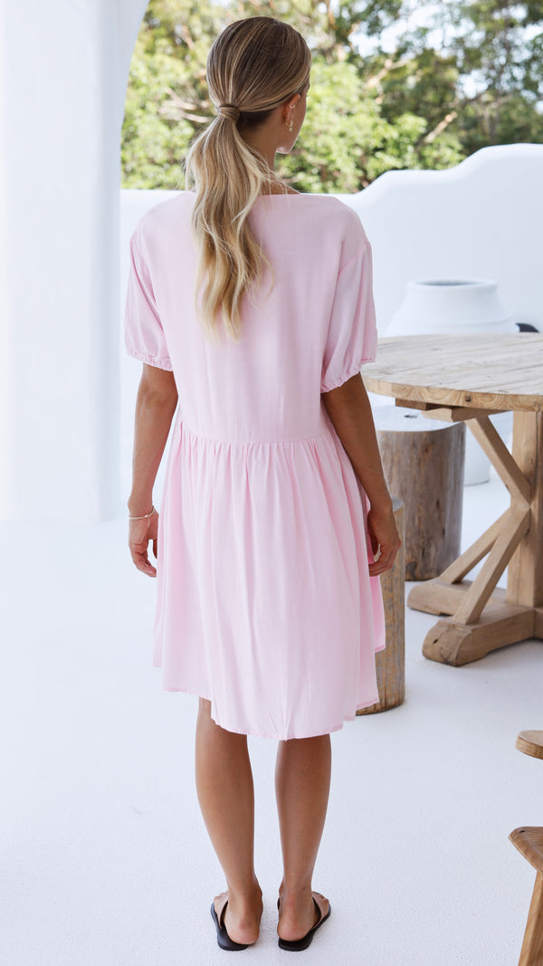 Kayley Dress - Pink