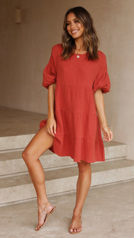 Valerie Dress - Spice