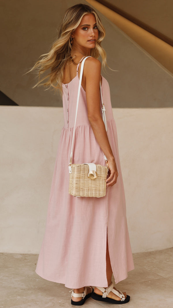 Whitney Dress - Blush