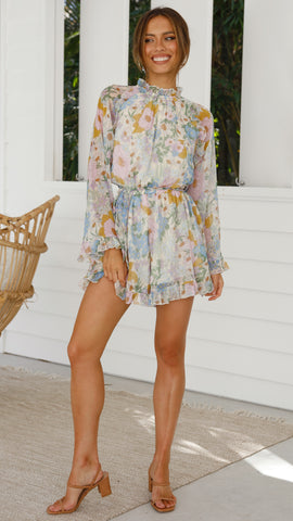 Winsome Playsuit - Floral