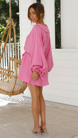 Inti Dress - Fuchsia