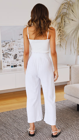 Ellita Pants - White