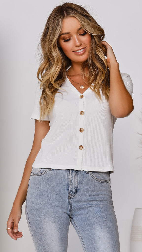 Ingrid Top - White