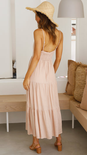 Airleigh Dress - Blush