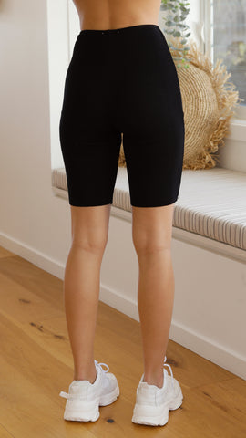 Fall in Line Bike Shorts - Black