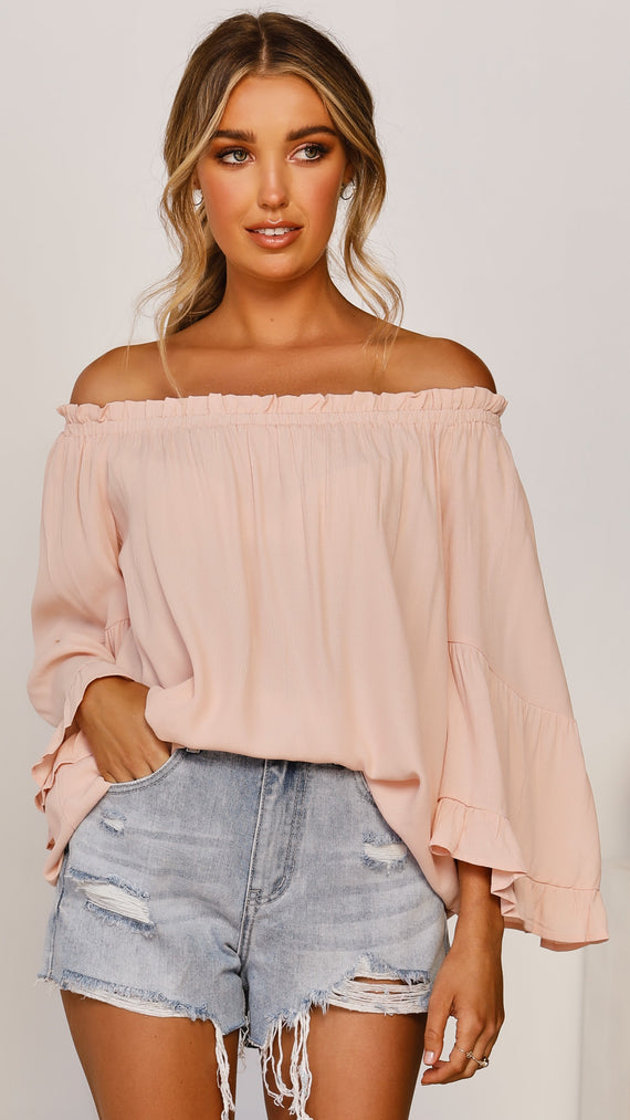 Aria Top - Blush