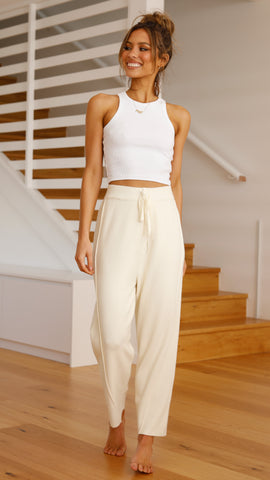 Carter Pants - Cream