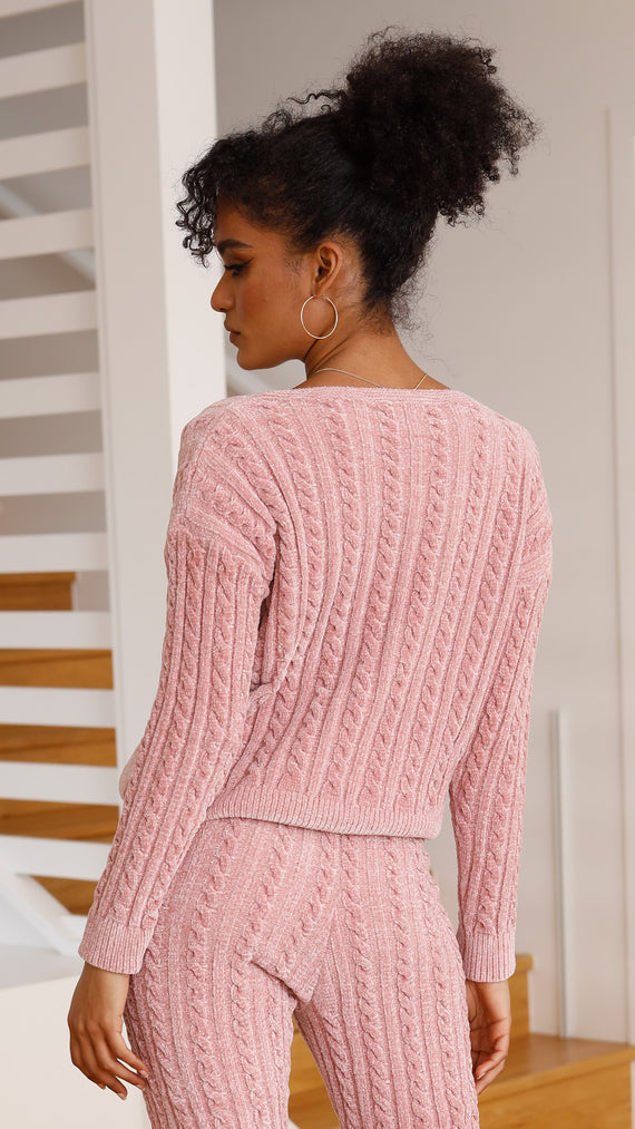 Kacey Knit - Rose
